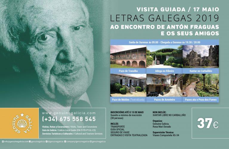 Visita Guiada: 17 Mayo Día das letras Galegas «Ao encontro de Antón Fraguas e os seus Amigos»
